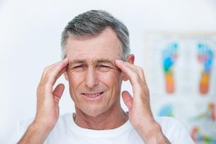 Patient with headacheの素材 [FYI00006732]