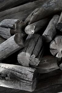 木炭の素材 [FYI00025478]