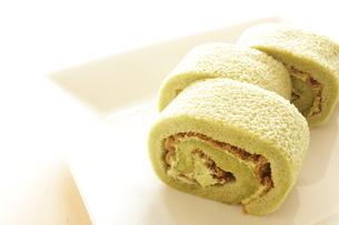 抹茶ケーキの素材 [FYI00031190]