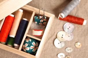 裁縫セットの素材 [FYI00033125]