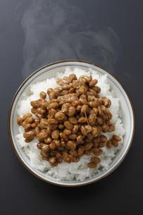 納豆ご飯の素材 [FYI00045584]