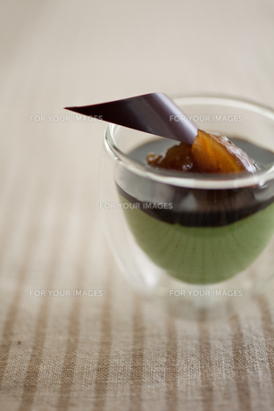 抹茶のムースの素材 [FYI00092705]