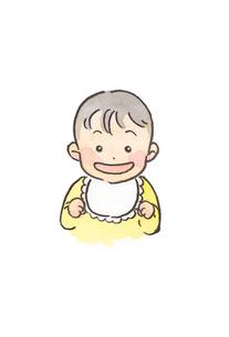 笑顔の赤ちゃんの素材 [FYI00116771]