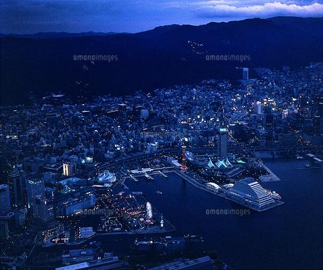 神戸メリケンパーク 夜景の素材 [FYI00131581]