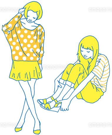 girl4の素材 [FYI00133928]