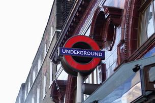 ロンドン 地下鉄表示の素材 [FYI00151322]