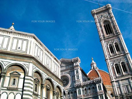 フィレンツェの大聖堂広場の素材 [FYI00169442]