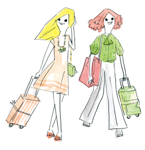 女2人旅の素材 [FYI00202467]