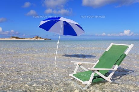 美しい海と夏空の素材 [FYI00232071]