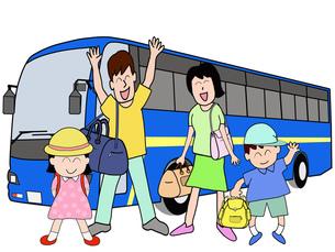 家族でバス旅行の素材 [FYI00280663]