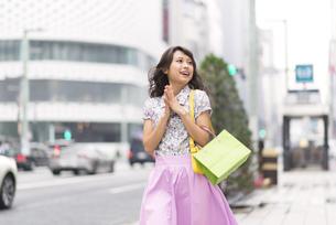ショッピングを楽しむ女性の素材 [FYI00465755]