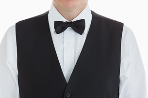 Close up of a Welldressed manの素材 [FYI00486566]