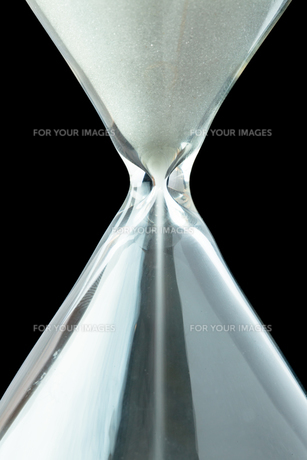 Close up of a hourglassの素材 [FYI00487388]