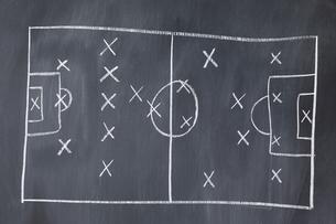 Soccer football Strategyの素材 [FYI00487786]