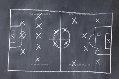 Soccer football Strategyの素材 [FYI00488037]