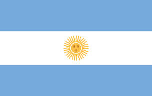 Argentina Flagの素材 [FYI00488180]