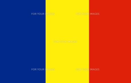 Romania flagの素材 [FYI00488293]