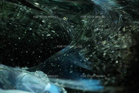 ガラスの超接写の写真素材 [FYI00543755]