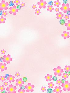 桜の花のイラスト素材 [FYI00551810]