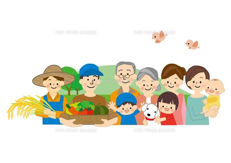 農業 男性と女性 食の安全の素材 [FYI01043754]