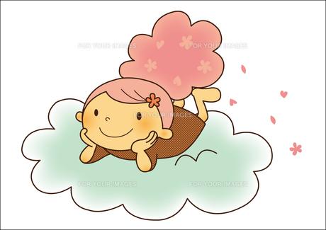 桜の子の素材 [FYI01050431]