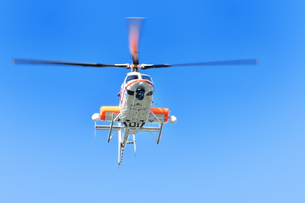 報道ヘリコプターの写真素材 [FYI01216925]