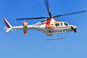 報道ヘリコプターの写真素材 [FYI01216927]