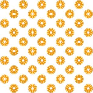 オレンジ パターンのイラスト素材 [FYI01217136]