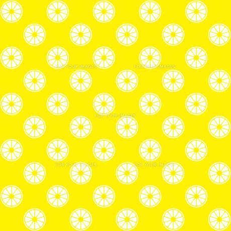 レモン パターンのイラスト素材 [FYI01217139]