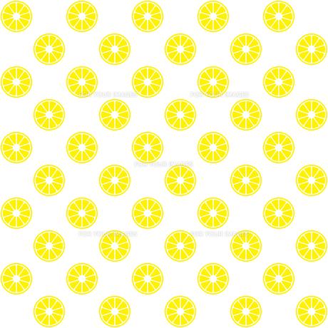 レモン パターンのイラスト素材 [FYI01217140]