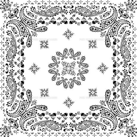 ペイズリーパターンイラストのイラスト素材 [FYI01217915]