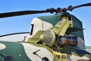 CH-47Jのエンジンの写真素材 [FYI01219073]