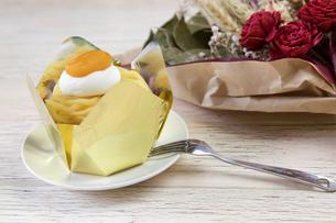 モンブラン ケーキの写真素材 [FYI01232961]